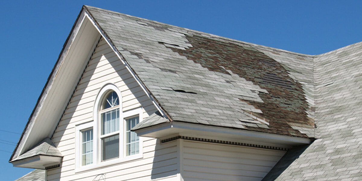 home roof with shingle damage - personal and commercial insurance mamoroneck ny