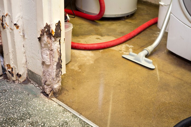 water in basement with vacuum - preventing water damage and home insurance claims mamoroneck ny